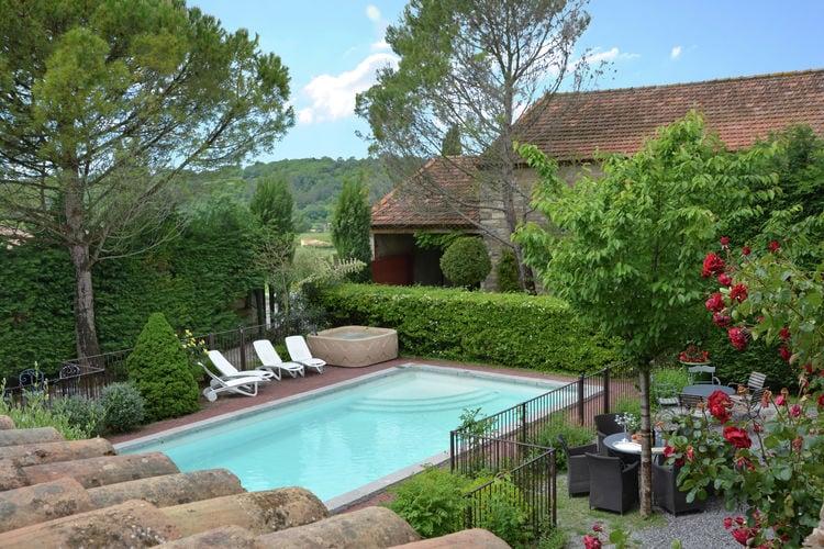 Villas Frankrijk | Languedoc-roussillon | Villa te huur in St-Cesaire-Gauzignan met zwembad  met wifi 20 personen