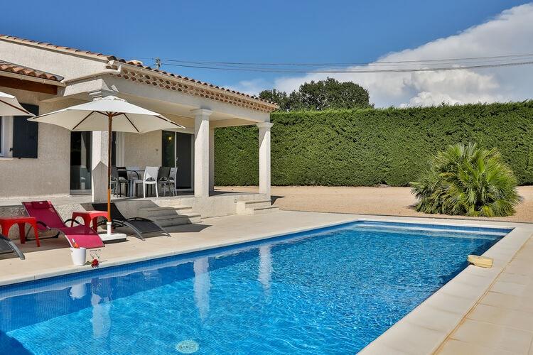 Villa met zwembad met wifi  CairanneEntre Vignes et Oliviers