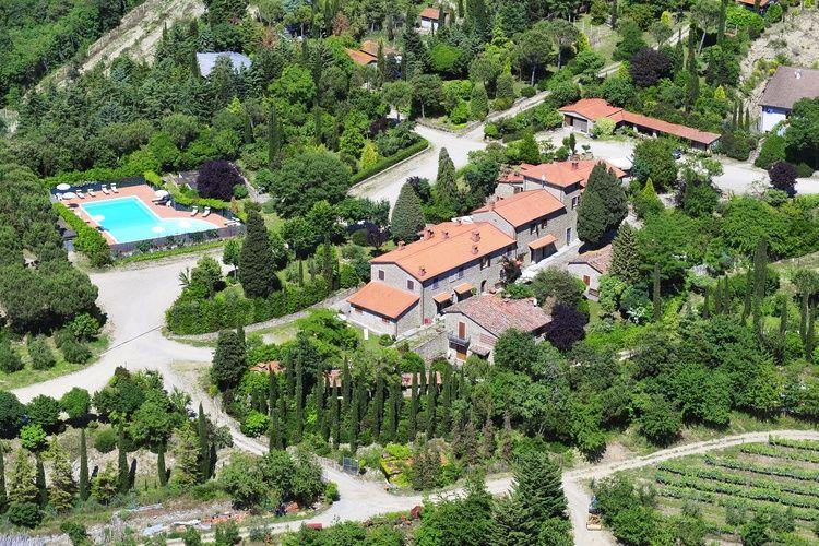 Boerderij huren in Arezzo - met zwembad  met wifi met zwembad voor 4 personen  Deze gezellige agriturismo ligt in..