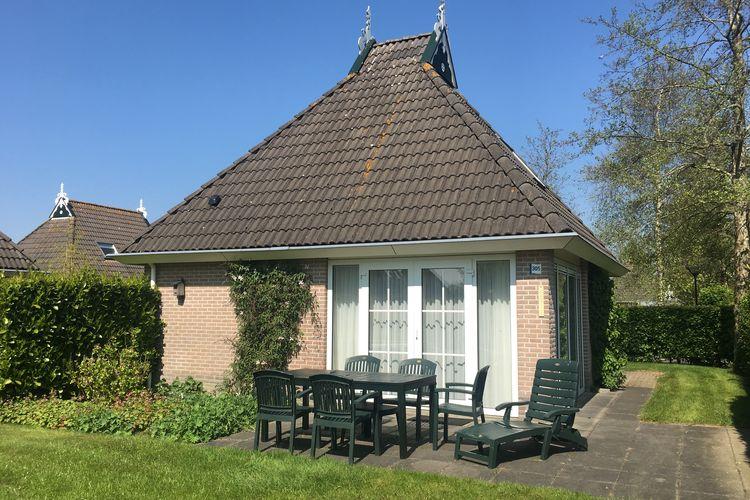Bungalows Nederland | Friesland | Bungalow te huur in Eernewoud met zwembad  met wifi 6 personen