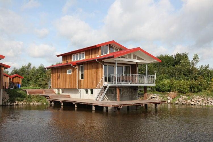Noardburgum Vakantiewoningen te huur Riante, luxueus ingerichte waterpaviljoens op rustig, waterrijk Waterpark Zwartkruis
