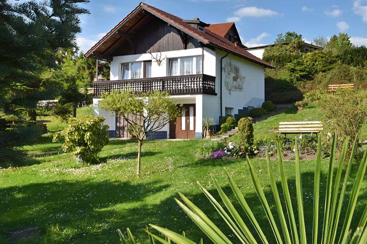 Thuringen Vakantiewoningen te huur Vakantiehuis voor 2-3 personen in het mooie Thüringer Woud