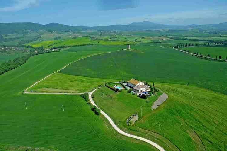 Boerderij Italië, Toscana, Pienza Boerderij IT-53026-10