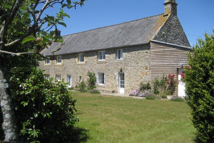 Bretagne Villas te huur Gerenoveerde, comfortabele boerderij met grote tuin, authentieke kenmerken