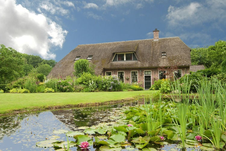 Drenthe Boerderijen te huur Comfortabele vakantiewoning in een rietgedekte boerderij met tuin, in Zweeloo
