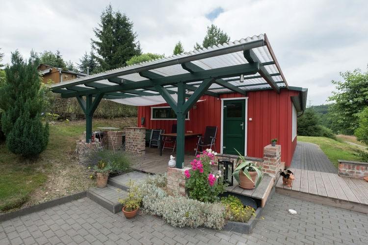 Vakantiewoning    Güntersberge  Vrijstaand vakantiehuis in het Harzgebergte met houtkachel en overdekt terras