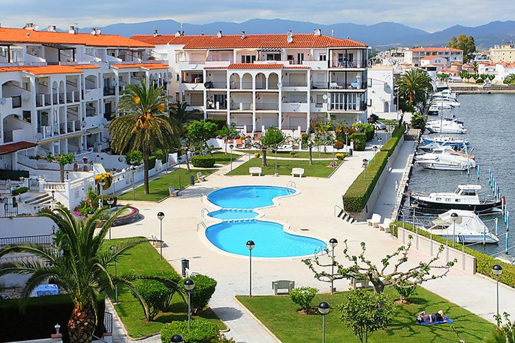 Appartement met zwembad met wifi  Costa BravaSant Maurici