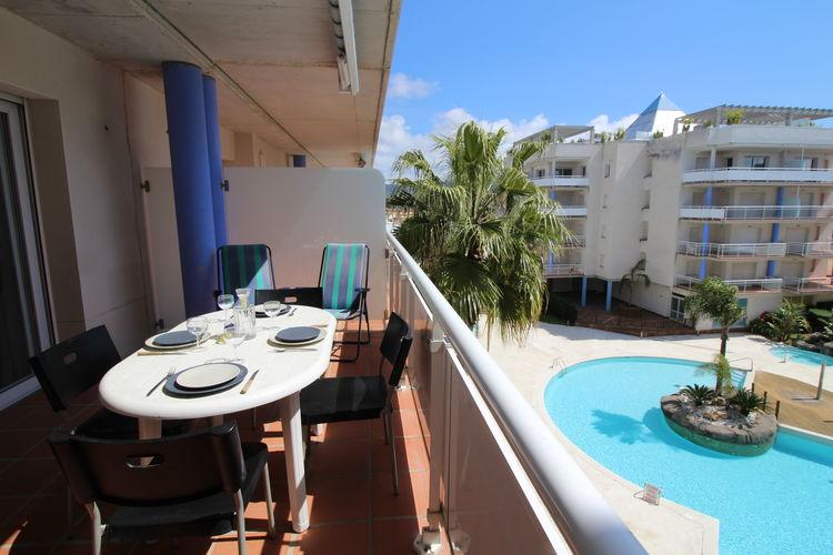 Appartement met zwembad met wifi  Costa BravaPort Canigo  seis