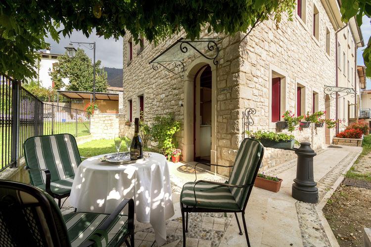Appartementen Italie | Veneto | Appartement te huur in Miane   met wifi 2 personen