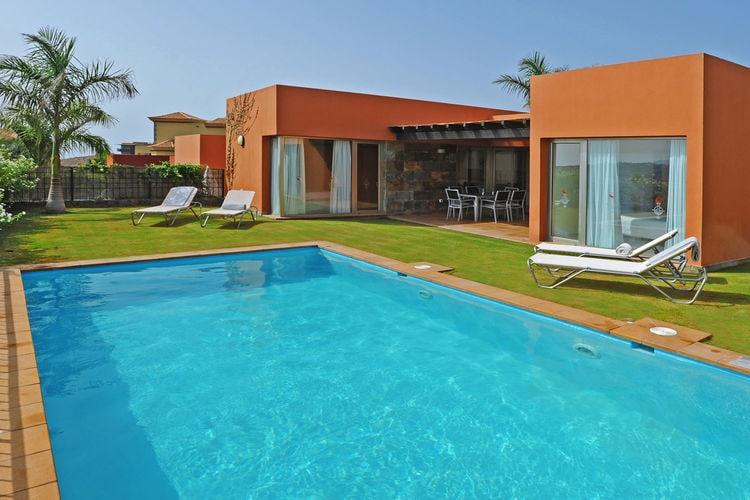 Villa in het exclusieve wooncomplex van het Salobre Golf Resorts