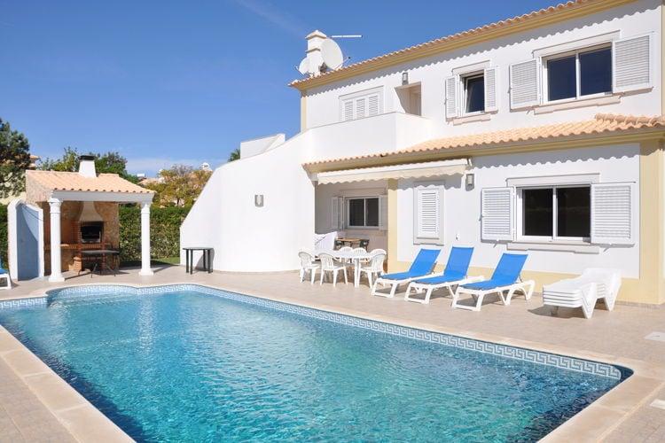 Portugal | Algarve | Villa te huur in Quarteira-Vilamoura met zwembad  met wifi 12 personen