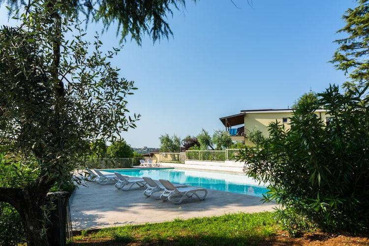 Vakantiehuizen Italie | Italiaanse-Meren | Vakantiehuis te huur in Manerba-del-Garda met zwembad  met wifi 6 personen