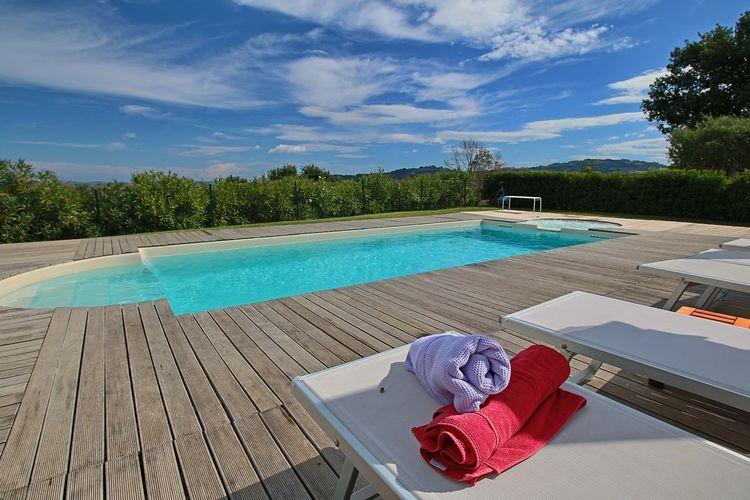 Vakantiehuizen Italie | Marche | Vakantiehuis te huur in Montelabbate met zwembad  met wifi 4 personen