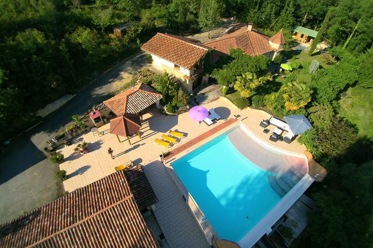 Frankrijk | Midi-Pyrenees | Villa te huur in Marciac met zwembad  met wifi 12 personen