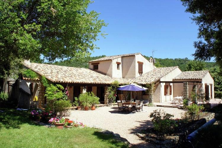 Villa Claudette Tourtour Provence Cote d Azur France
