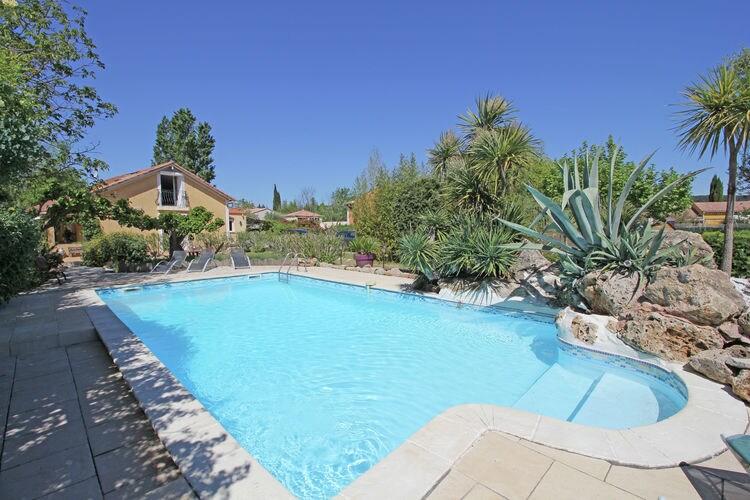 Vakantiehuis met zwembad met wifi  Pignans  Villa Vidalys