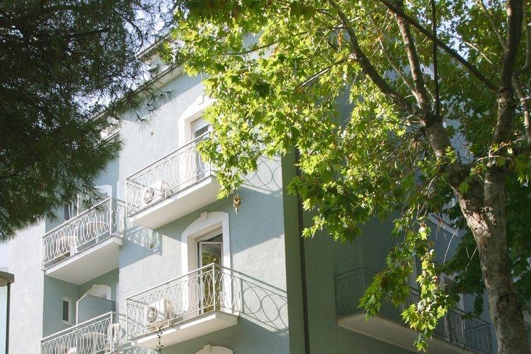 Appartement huren in Rimini -   met wifi  voor 4 personen  De residence is gelegen op een cen..