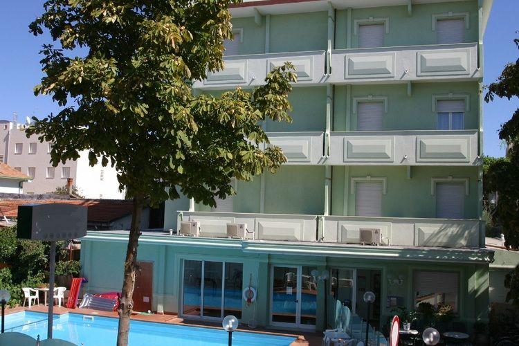 Appartement huren in Rimini - met zwembad  met wifi met zwembad voor 2 personen  De residence is vlakbij de zee gel..