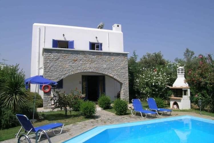 Griekenland | Kreta | Villa te huur in Pagalohori met zwembad  met wifi 6 personen
