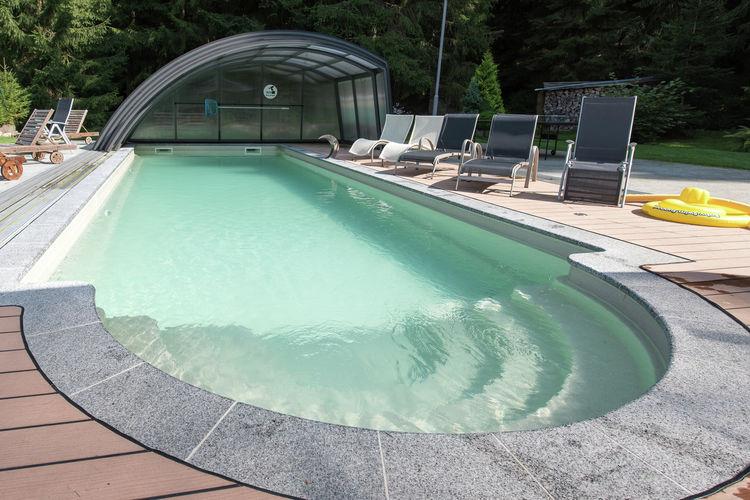 Duitsland | Saksen | Vakantiehuis te huur in Jagersgrun met zwembad  met wifi 8 personen