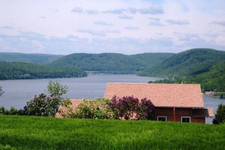 Hessen Appartementen te huur Appartement met ongelooflijk mooi uitzicht op de beroemde Edersee