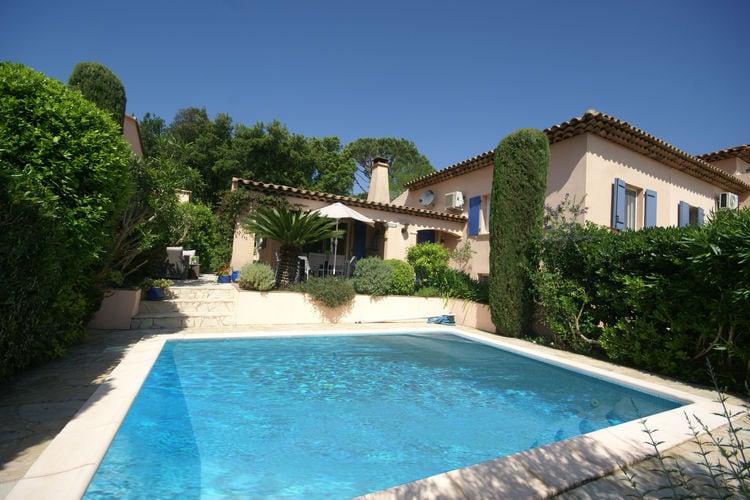 Vakantiewoning huren in Cogolin - met zwembad  met wifi met zwembad voor 6 personen  Bij het dorpje Cogolin, tussen Gri..