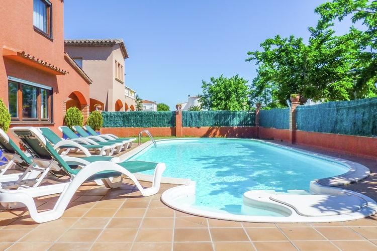 Vakantiehuizen Spanje | Costa-Brava | Vakantiehuis te huur in Sant-Pere-Pescador met zwembad  met wifi 8 personen
