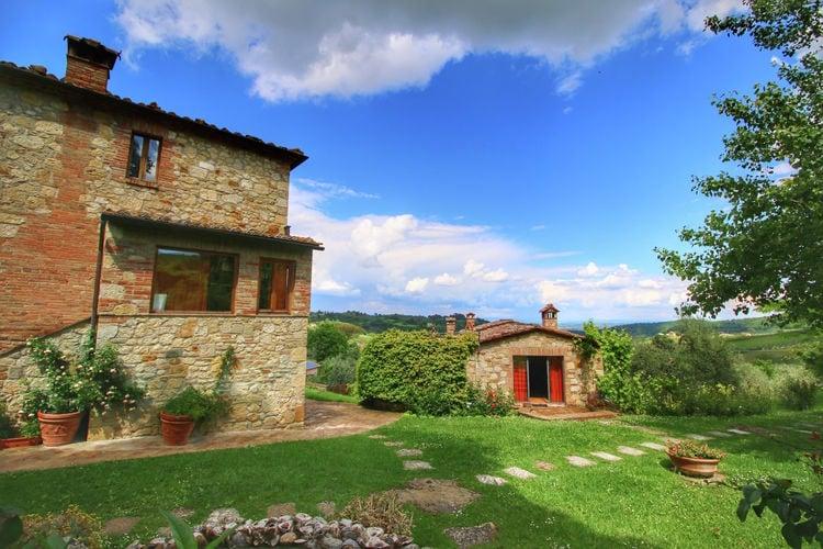 Montepulciano Vakantiewoningen te huur Rustieke villa met privé zwembad en adembenemend uitzicht, dichtbij Montepulciano