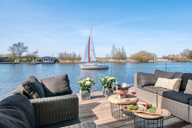 Vakantiehuizen Nederland | Friesland | Vakantiehuis te huur in De-Veenhoop   met wifi 10 personen