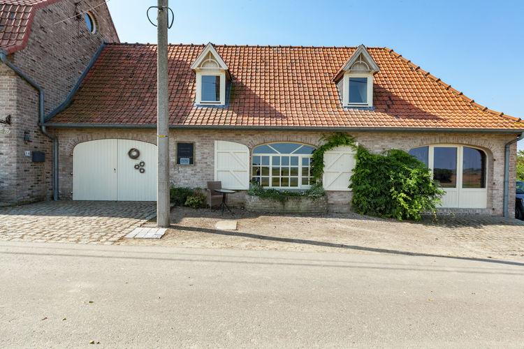 Belgie | West-Vlaanderen | Vakantiehuis te huur in Heuvelland-Dranouter   met wifi 6 personen