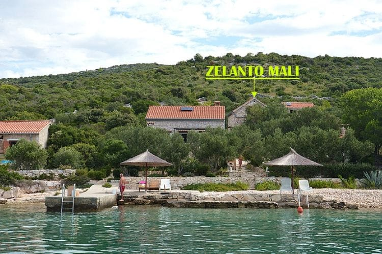 vakantiehuis Kroatië, eld, Tkon vakantiehuis HR-23212-02