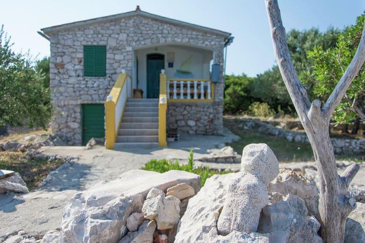 vakantiehuis Kroatië, eld, Tkon vakantiehuis HR-23212-06