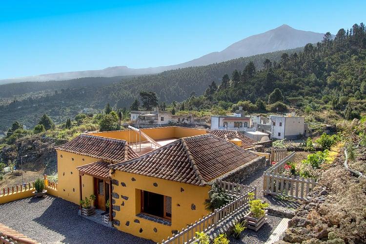 trfe Vakantiewoningen te huur Typisch Canarisch landhuis met een prachtig uitzicht op Tenerife