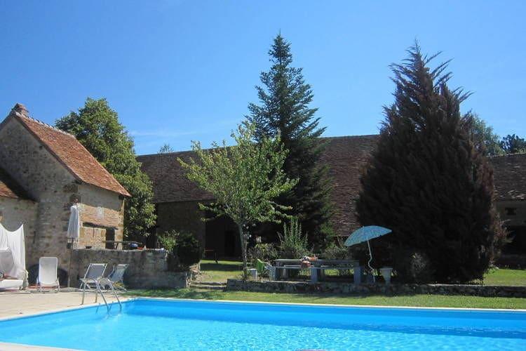 Vakantiewoningen Region Centre te huur Dunet- FR-36310-02 met zwembad   te huur