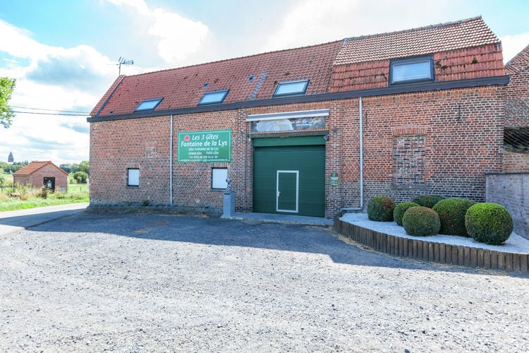 Belgie | Henegouwen | Vakantiehuis te huur in Le-Bizet   met wifi 10 personen
