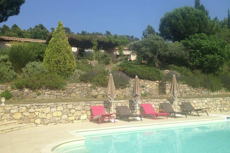 Calme et vue panoramique plein Sud Tourtour Provence Cote d Azur France