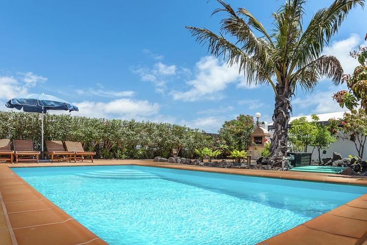 Spanje | Lnzt | Villa te huur in Playa-Blanca met zwembad  met wifi 4 personen