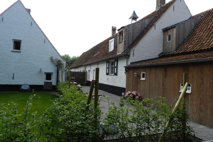 Boerderij België, West Vlaanderen, Damme Boerderij BE-8340-09