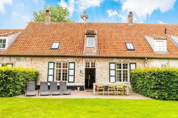 Vakantiehuizen Belgie | West-Vlaanderen | Boerderij te huur in Damme   met wifi 12 personen