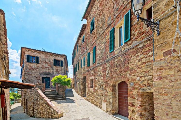 Vakantiehuizen Italie | Toscana | Vakantiehuis te huur in Montecastelli-Pisano   met wifi 4 personen