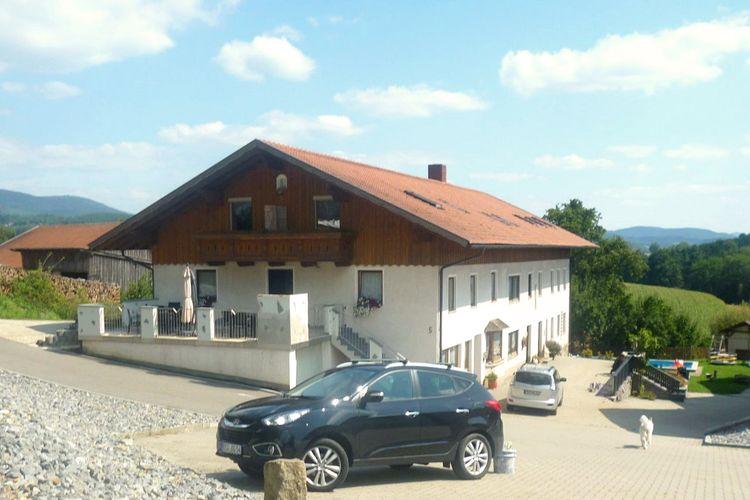 Duitsland | Beieren | Appartement te huur in Prackenbach-ot-Tresdorf met zwembad  met wifi 5 personen