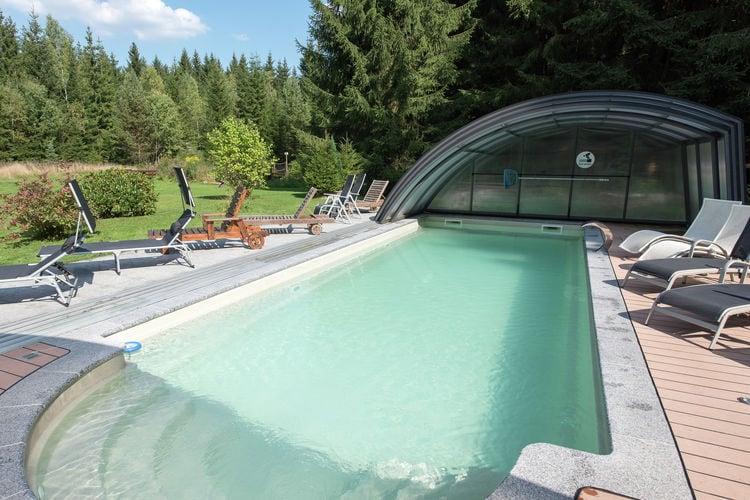 Duitsland | Saksen | Vakantiehuis te huur in Jagersgrun met zwembad  met wifi 4 personen