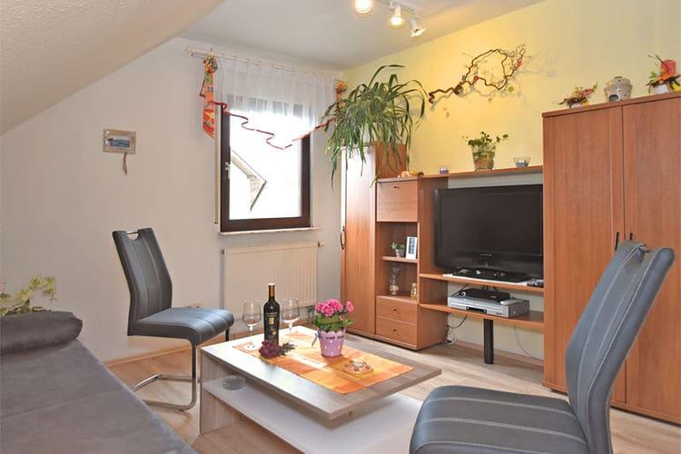 Duitsland | Saksen | Appartement te huur in Werda   met wifi 5 personen