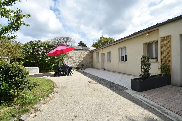Frankrijk | Normandie | Vakantiehuis te huur in Luc-sur-mer   met wifi 4 personen