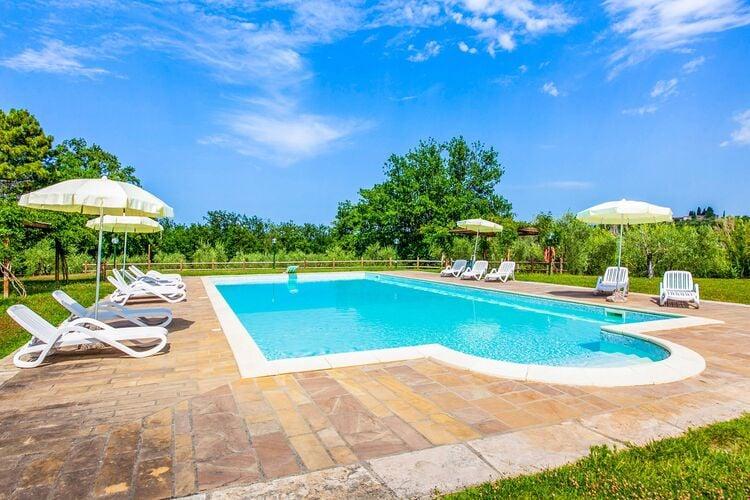 Vakantiehuizen Italie | Toscana | Boerderij te huur in Terricciola met zwembad  met wifi 6 personen