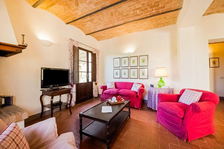 Vakantiehuizen Italie | Toscana | Boerderij te huur in Terricciola met zwembad  met wifi 4 personen