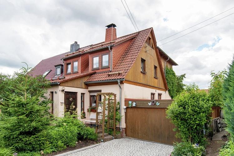 Vakantiewoning in het Thüringer Woud in de buurt van de Rennsteig