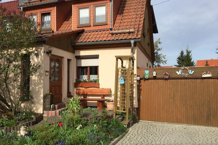 Thuringen Vakantiewoningen te huur Vakantiewoning in het Thüringer Woud in de buurt van de Rennsteig