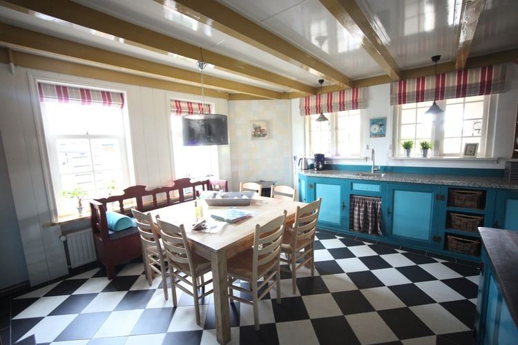 Holland | North Sea Coast North | Holiday home Recreatiepark Wiringherlant - Anno Nu XL | all year | Kitchen