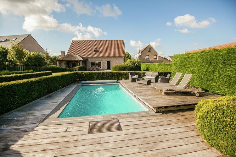 Vakantiehuizen Belgie | West-Vlaanderen | Vakantiehuis te huur in Aartrijke met zwembad  met wifi 8 personen